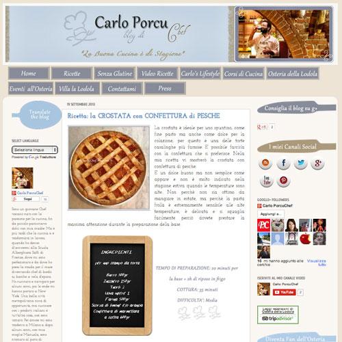 Carlo Porcu blog di Chef