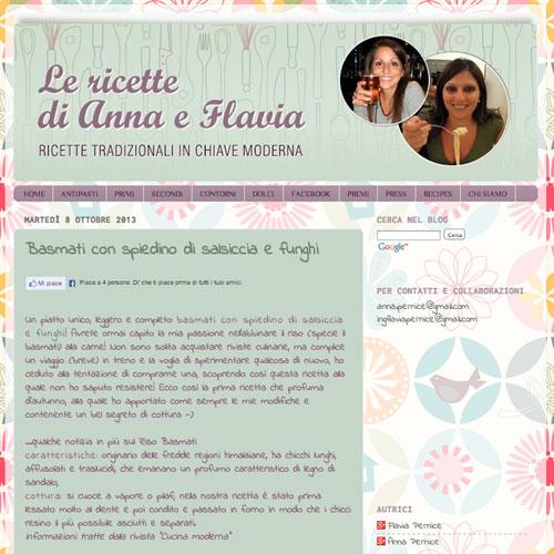 Le Ricette di Anna e Flavia