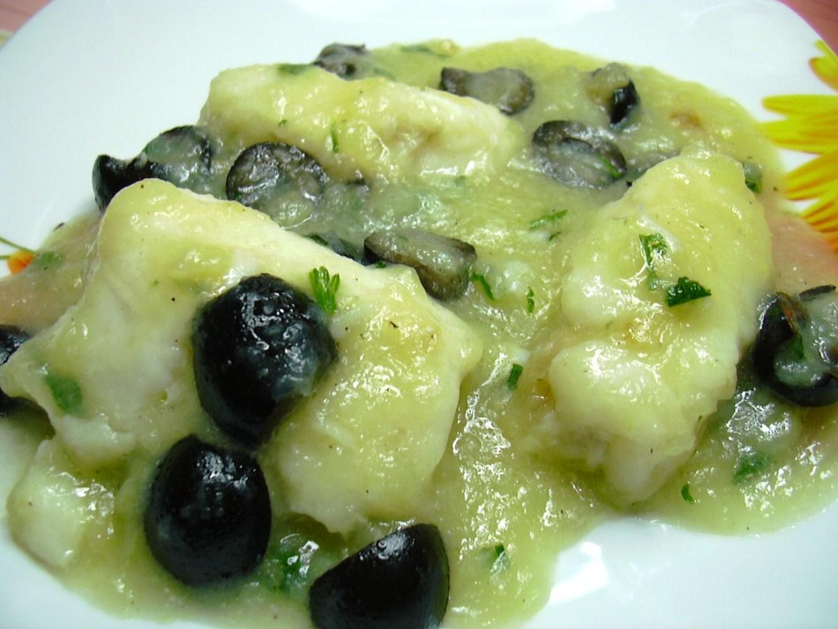 Filetti di nasello alle olive