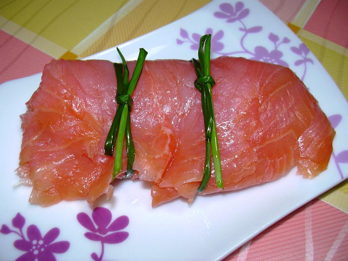 Tortino al salmone