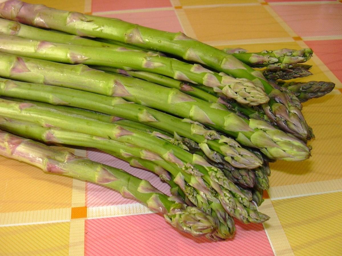 Insalata con asparagi