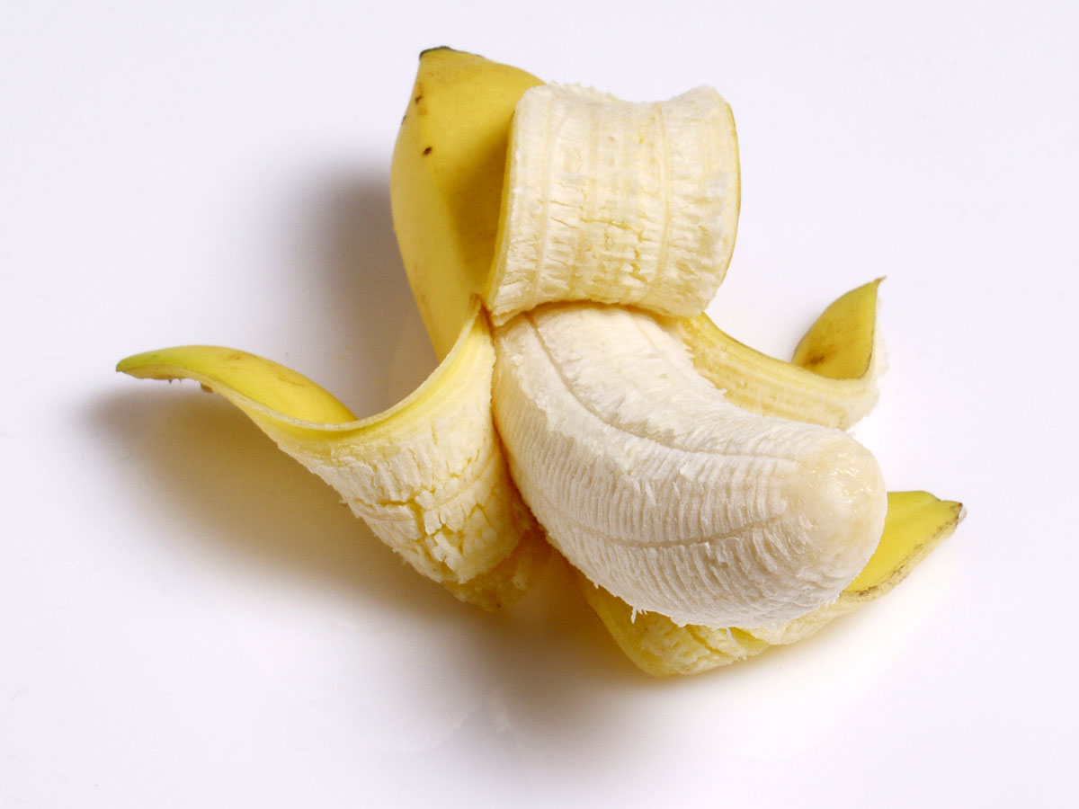 Affogato alla banana