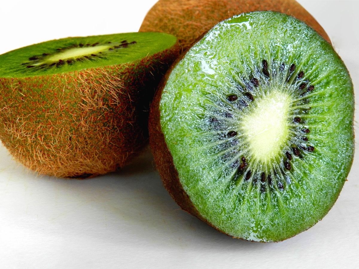 Affogato al kiwi