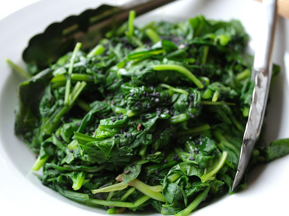 Anello di spinaci