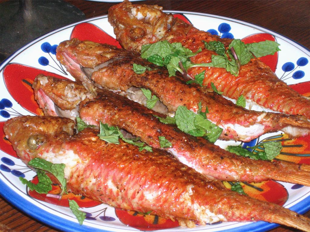 Ricette con pesci vari cefalo triglia seppia for Cucinare nei vari dialetti italiani
