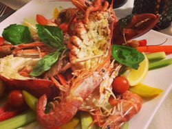 Catalan lobster (astice alla catalana)