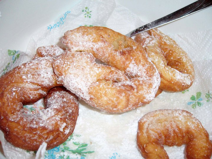 Fried donuts - Recipe