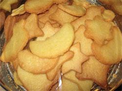 Biscotti di pasta frolla di varie forme
