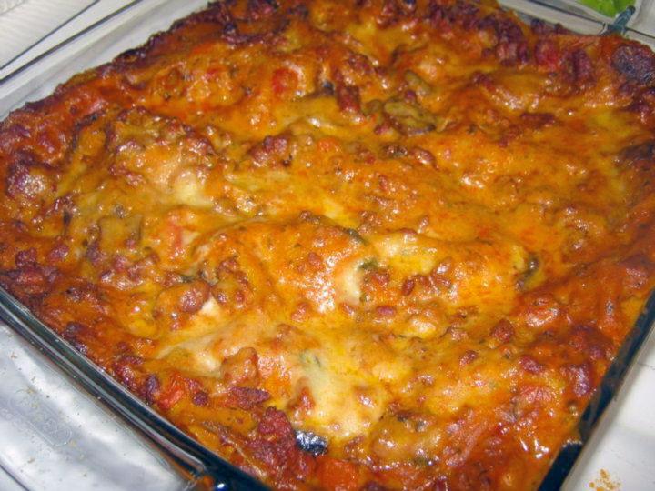lasagne carne e funghi, ricetta - Come Cucinare Le Lasagne