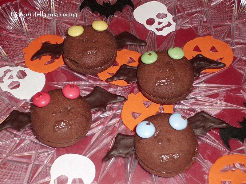 Biscottini pipistrello per halloween