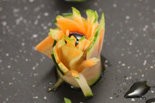 Antipasto estivo di verdure