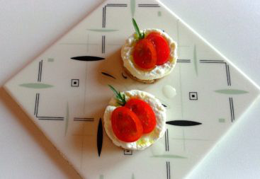 Mini cheesecake con bufala